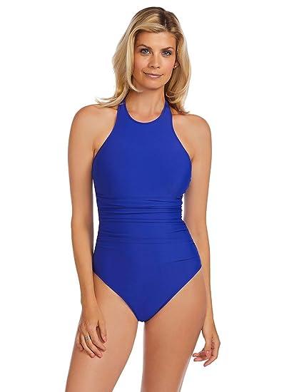 aefe7d5b30e8b Magicsuit Solid Danika Tummy Control One Piece Swimsuit at Amazon ...