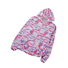 Legou Women's Sun-Protection Short Summer Lightweight Jacket