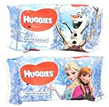 huggies inserts - Huggies Special Edition Disney Frozen Baby Wipes Soft Refill  56 Count (3 Pack, 168 Count)