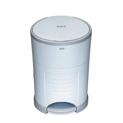 Korbell - Cubo de basura para pañales (16 L, manos libres ...