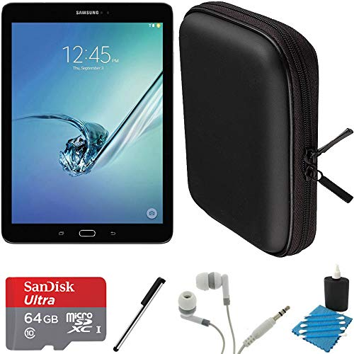 Samsung Galaxy Tab S2 9.7-inch Wi-Fi Tablet (Black/32GB) SM-T810NZKEXAR 64GB MicroSD Card Bundle includes Galaxy Tab S2, 64GB MicroSD Card, Stylus Stylus Pen, Protective Tablet Sleeve