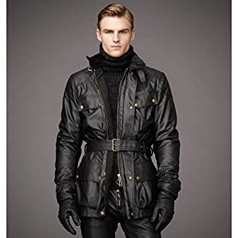 Belstaff Classic-Chaqueta impermeable Tourist Trophy Waxcotton, 0,75 M, color marrón: Amazon.es: Juguetes y juegos