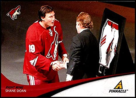 844f3c7c6 Amazon.com  2011-12 Panini Pinnacle  168 Shane Doan NM-MT Phoenix Coyotes  Official NHL Hockey Card  Collectibles   Fine Art