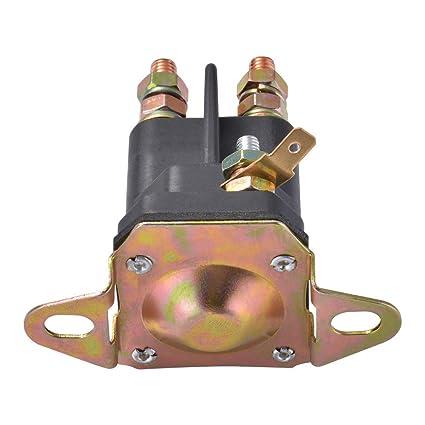 Relé solenoide de arranque de 3 terminales 12V Contactor Cambiar ...