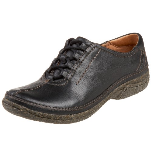 Leather Women's Black Dynamic CLARKS Artisan Oxford Drive FxqvqYXw
