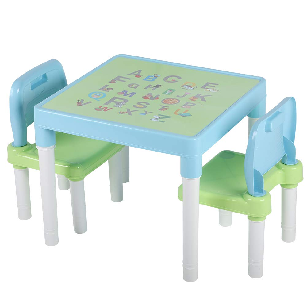 gaixample.org Furniture Nursery Table and Chair Set ABC Alphabet ...