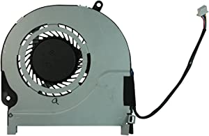 Power4Laptops Replacement Laptop Fan 4 Pin Version for Toshiba Satellite Radius P55W-C5316-4K