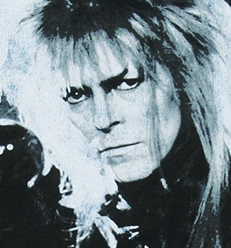 Labyrinth Bowie You Remind Me Of The Babe Herren T Shirt Blau