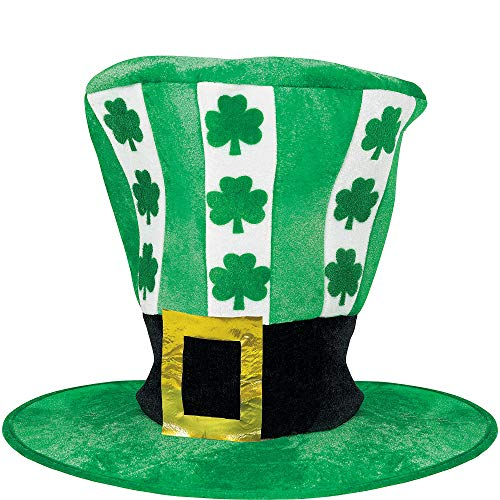 Amscan St. Patrick's Day Oversized Green Fabric Hat | Party Accessory -