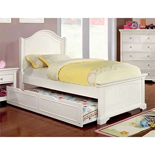 Furniture of America Gillis Twin Trundle in White