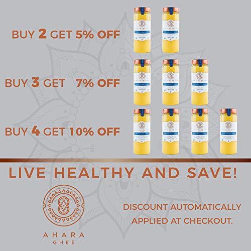 Ahara Rasa Grass-Fed Cultured Organic Ghee 19 Fl Oz Jar by Ahara Rasa (Image #4)