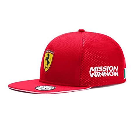 63d7c82821bbe4 Image Unavailable. Image not available for. Color: PUMA Scuderia Ferrari  Replica Charles Leclerc Hat
