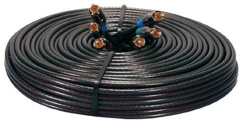 Qvs Component (QVS RCA3V-35 35 ft. HDTV Triple-RCA Premium Component Video Combo Cable)