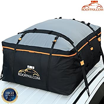 RoofPax Car Roof Bag Rooftop Cargo Carrier 19 Cubic Feet Heavy Duty