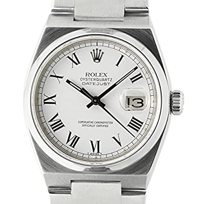 Rolex Datejust quartz mens Watch 17000_ (Certified Pre-owned)