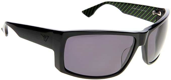 03835320448 Image Unavailable. Image not available for. Colour  Emporio Armani Men s  9699 Black Frame Grey Lens Plastic Sunglasses
