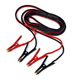 XtremepowerUS Heavy-Duty Auto Jumper Cables - 20Ft Length - Heavy 4-Gauge Wire with Storage Bag