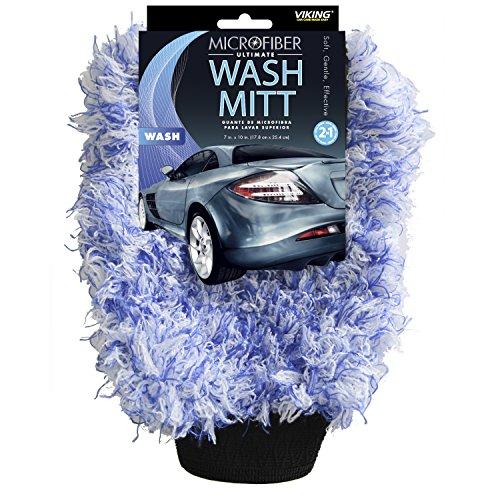 (Viking Microfiber Car Wash Mitt - Scratch-free)