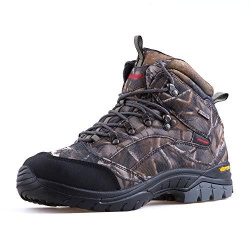 Treasu-LQ Chaussures de randonnée et de Trekking Montantes en Plein air Unisexes Chaussures de Chasse imperméables… 1