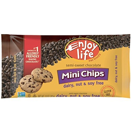 Enjoy Life Foods, Mini Chips, Semi-Sweet Chocolate, 10 oz (283 g)(pack of 2) by Enjoy Life Foods