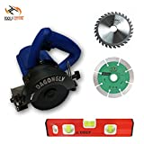 Tools Centre 5'' Tile/Wood Cutter Machine With Angular/Bevel Cutting Free Blade & Level Combo.