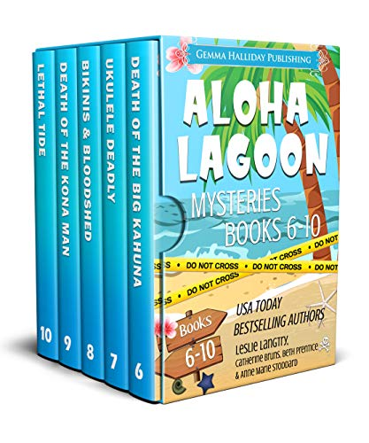 Aloha Lagoon Mysteries Boxed Set (Books 6-10) by [Langtry, Leslie, Bruns, Catherine, Stoddard, Anne Marie, Prentice, Beth]