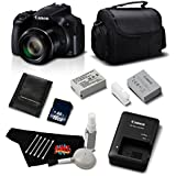 Canon PowerShot SX60 HS 16.1 MP Digital Camera 9543B001 Standard Bundle - International Version (No Warranty)