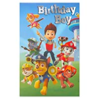 American Greetings Paw Patrol Marshall Birthday Card