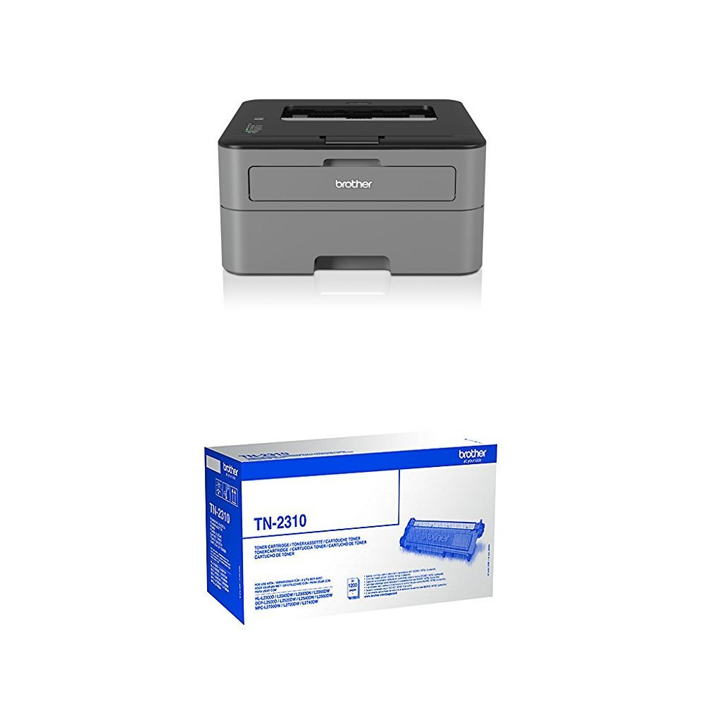 Brother HL-L2300D - Impresora láser (2400 x 6000 dpi, b/n 26 ppm ...