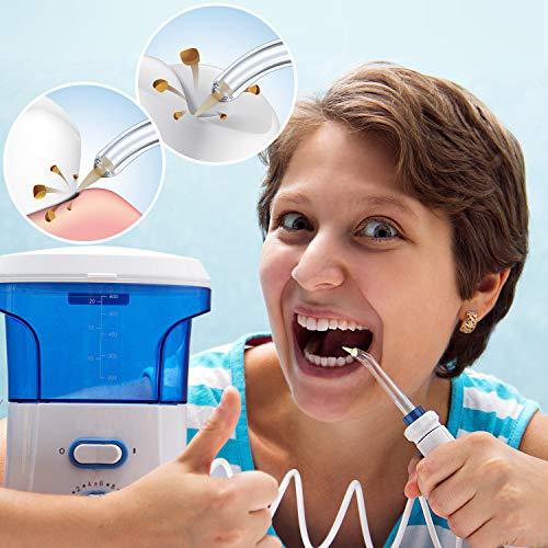 Replacement Tips for Waterpik 2 colors Periodontal Tips Dental Water Flosser Tips Replacement Tips for Waterpik Water Flossers (Like WP-100) and Other Oral Irrigators (2 Pieces)
