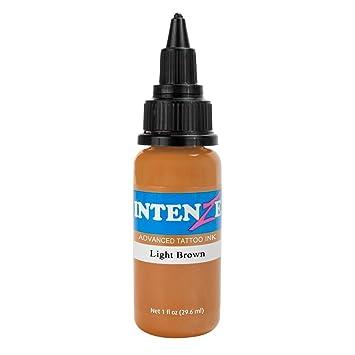 Amazon.com: Intenze Tattoo Ink Light Brown 1 oz: Beauty