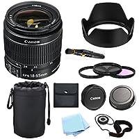 Canon EF-S 18-55mm f/3.5-5.6 IS II SLR Lens (White Box) For Canon XS, XSi, XT, XTi, T1, T2i, T3, T3i, T4i, T5, T5i, T6, T6i, T6s, 10D, 20D, 30D, 40D, 50D, 60D, 70D, 80D, 6D, 7D Digital SLR Cameras