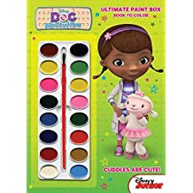 Bendon Doc McStuffins Ultimate Paint Box Coloring and Activity Book, 64 Pages (10353)