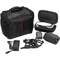 [DJI Mavic Air/Pro Accessories] Portable Carry Large Storage Case Shoulder Bag Backpack (Black)