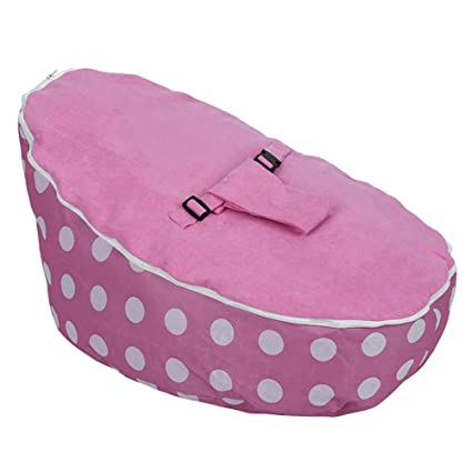 Fine Fokine Baby Bean Bag Chair Cover Newborn Baby Bean Bag Chair Lounger Sleeping Bed Nursery Portable Seat Without Filling Machost Co Dining Chair Design Ideas Machostcouk
