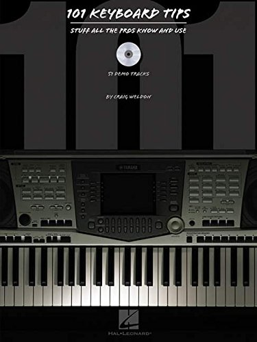 101 Keyboard Tips: Stuff All the Pros Know and Use (Book & CD) by Brand: HAL LEONARD CORPORATION