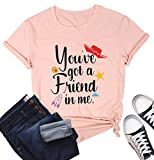 MYHALF You've Got a Friend in Me Friendship Tops for Women and Girls