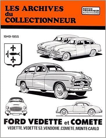 Téléchargement gratuit de livres audio en anglais Revue Technique Automobile, N° 24 Ford Vedette et Comete de Etai (4 septembre 1991) Broché in French PDF FB2 iBook