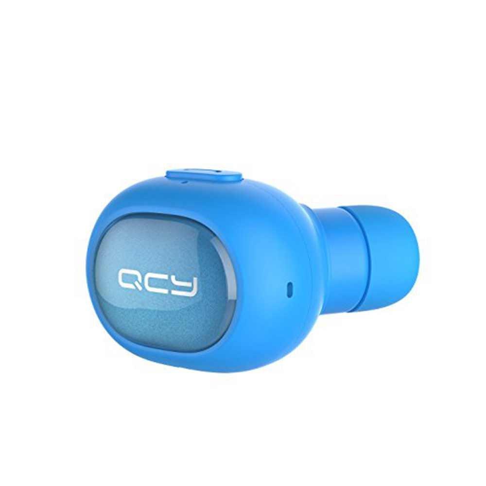 ミニBluetoothヘッドセットワイヤレスBluetoothイヤホンQCY q26イヤホンスポーツDriving音楽ステレオイヤホンfor iPhone Samsung Xiaomi Q26 ブルーB01LZPPDTZブルーブルー-