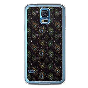 Paisley 6 Samsung Galaxy S5 Transparent Edge Case - Colorful Paisley Collection