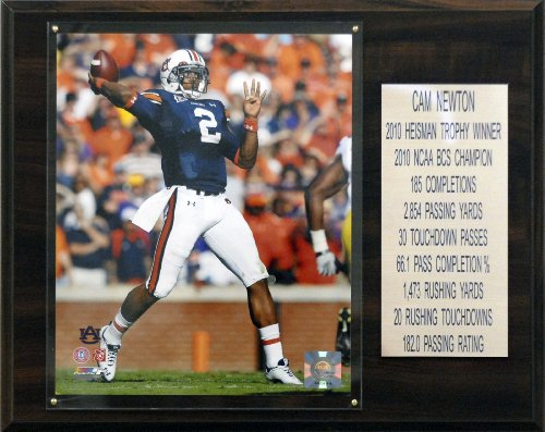 NCAA Football Cam Newton Auburn Tigers Career Stat (Auburn Tigers Photo Plaque)