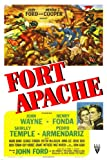 FORT APACHE movie poster john WAYNE henry FONDA shirley TEMPLE new 24X36 (reproduction, not an original)