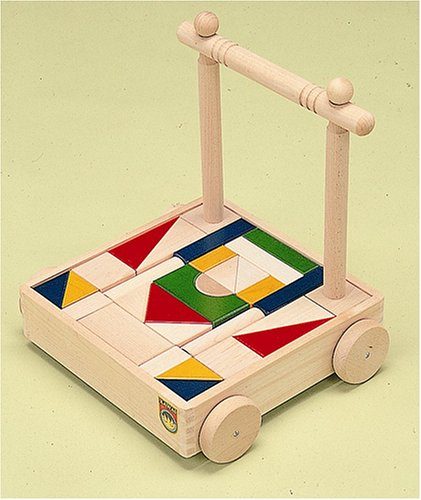 B 4420-9 building block car push antibacterial color  by Kaw