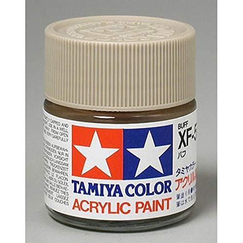 Tamiya Acrylic XF57, Flat Buff