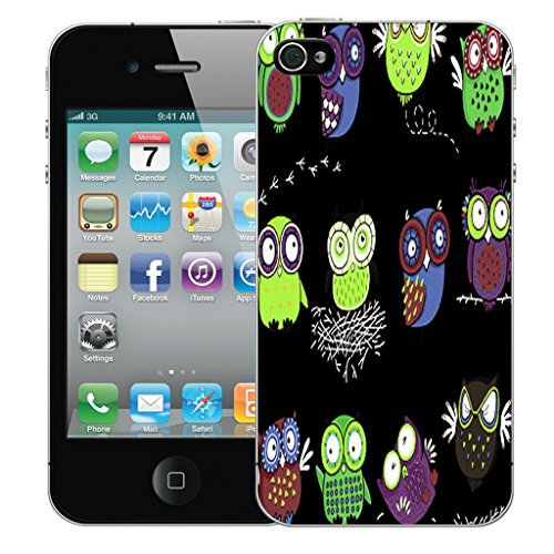 Mobile Case Mate iPhone 5c Silicone Coque couverture case cover Pare-chocs + STYLET - Owl Nest pattern (SILICON)