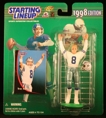 TROY AIKMAN / DALLAS COWBOYS 1998 NFL Starting Lineup Action