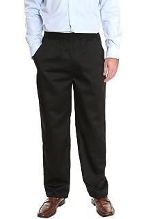 1f3703979e Mens Full Elastic Waist Pants with Mock Fly at Amazon Men's Clothing ...