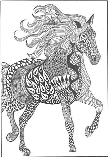 Bendon 26793 Animals Advanced Coloring Book