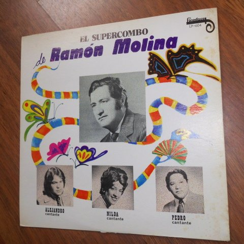 El Wonderful Combo De Ramon Molina (Fonodisco / Vinyl)