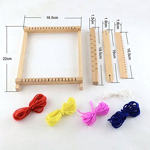 wooden weaving loom instructions